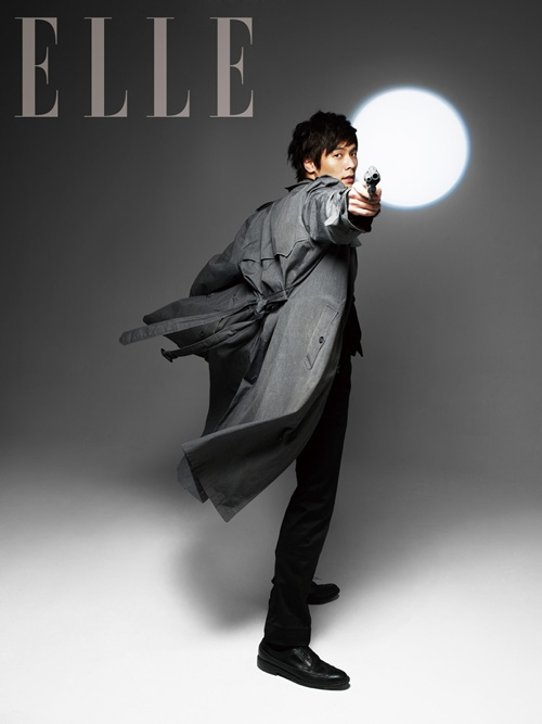 Uhm Tae Woong Choi Daniel Park Shin Hye Elle Magazine September