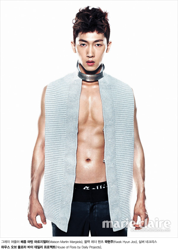 Jang Woo Hyuk: Marie Claire August, 2011 – Asia 24/7
