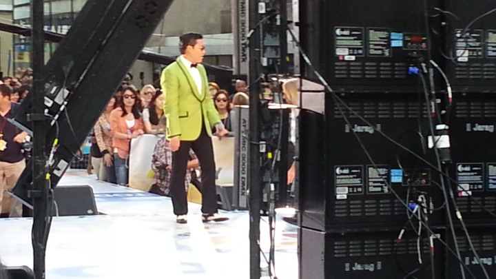 Psy @ TODAY Show