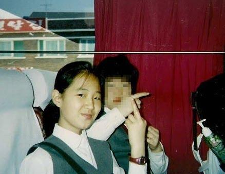 Yuri middle finger