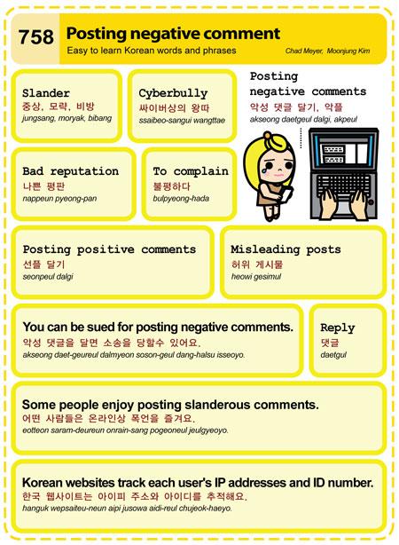 Posting Negative Comment