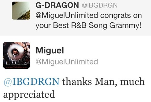 G-Dragon-Miguel Tweet