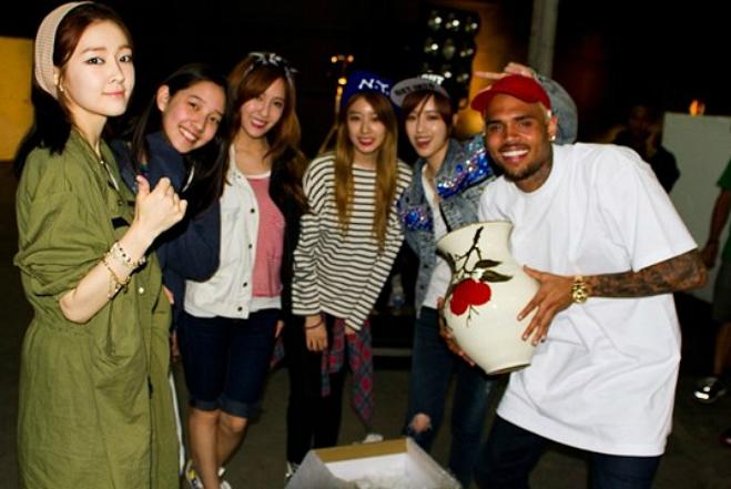 N4 & Chris Brown