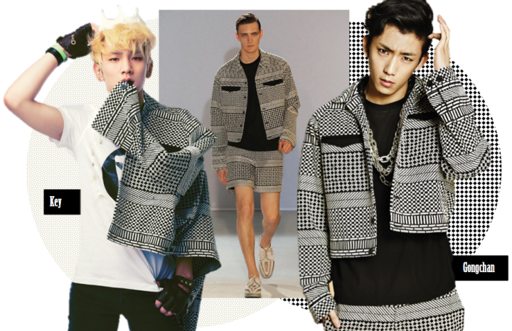 Who Wore It Better? (Key vs. Gongchan)