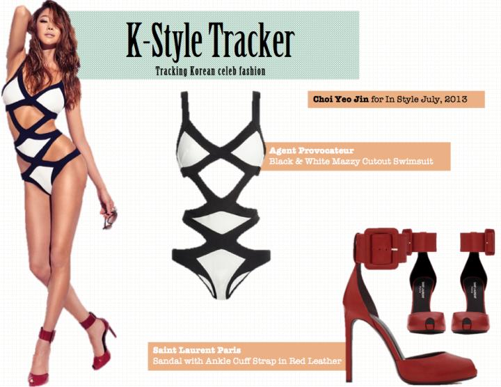 K-Style Tracker [Choi Yeo Jin- In Style July, 2013]