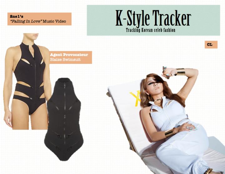 K-Style Tracker [CL- Falling In Love]