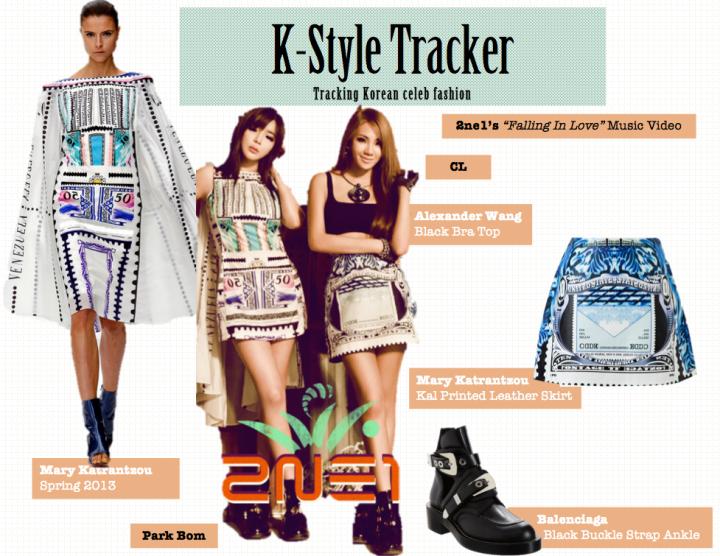 K-Style Tracker [CL & Park Bom- Falling In Love]