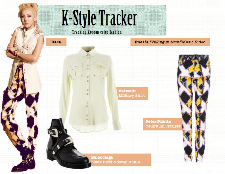 K-Style Tracker [Dara- Falling In Love]