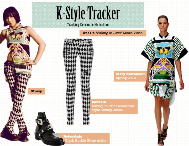 K-Style Tracker [Minzy- Falling In Love]