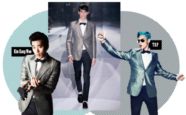 Who Wore It Better? (T.O.P vs. Kim Kang Woo)