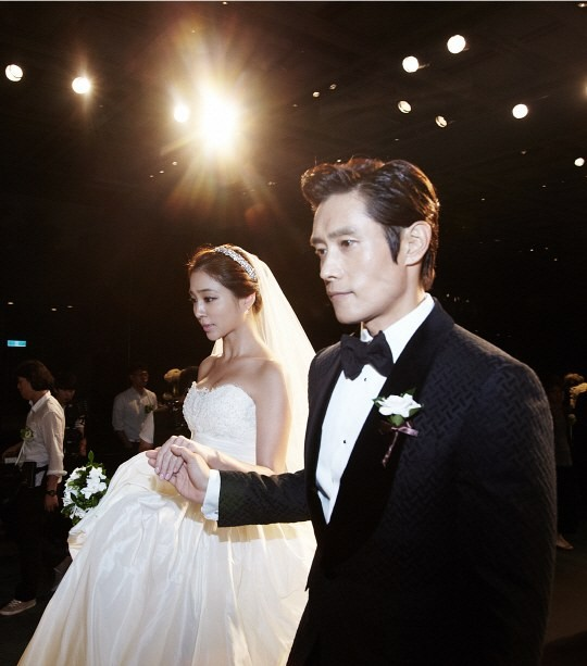 Lee Byung Hun & Lee Min Jung