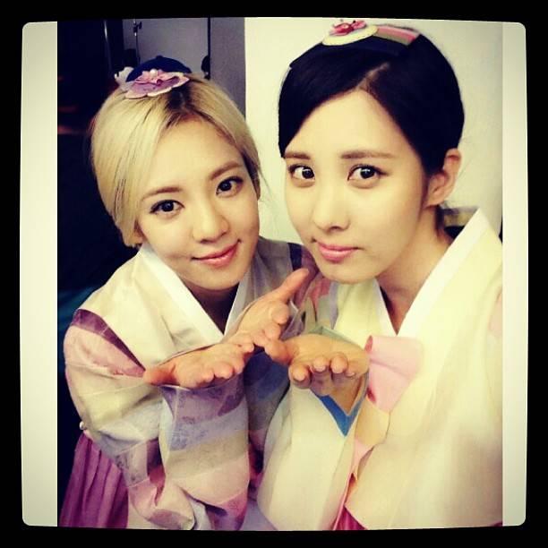 Hyoyeon & Seohyun