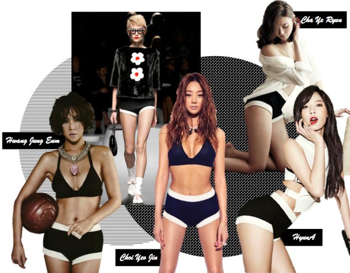 Who Wore It Better? (HyunA vs. Hwang Jung Eum vs. Choi Yeo Jin vs. Cha Ye Ryun) [Prada]