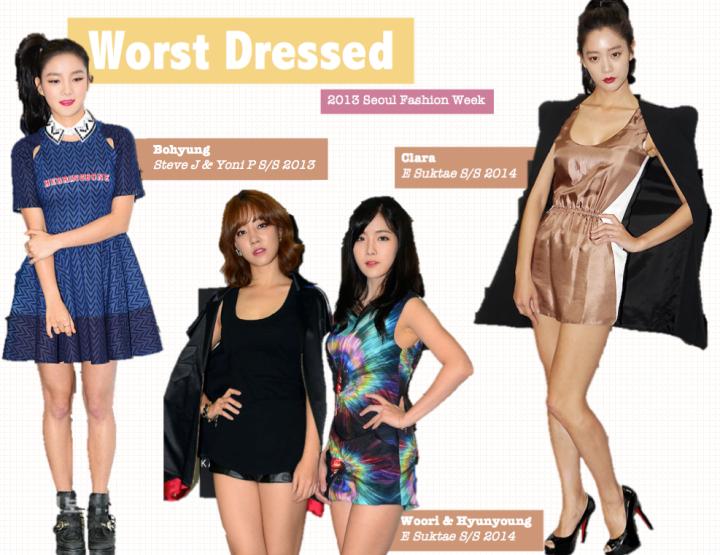 Worst Dressed [2013 Seoul Fashion Week] (2)