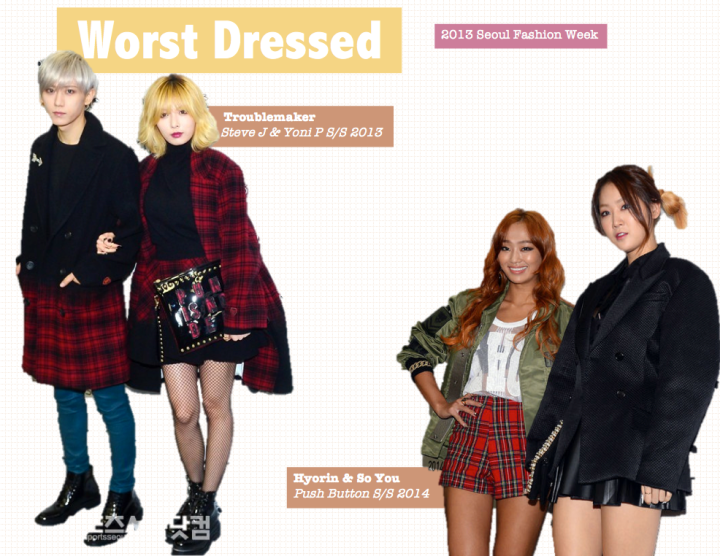 Worst Dressed [2013 Seoul Fashion Week]