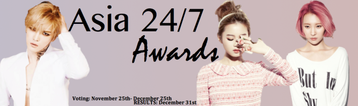 Asia 24/7 Awards 2013 [Header]
