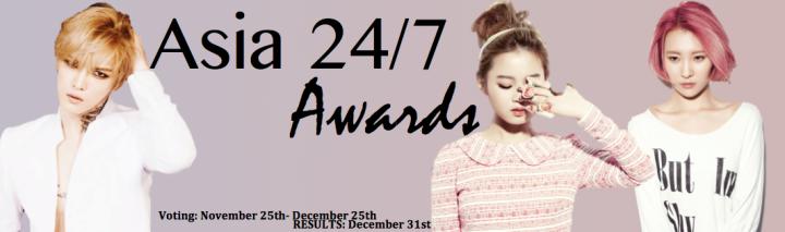 Asia 24/7 Awards 2013 [Header]