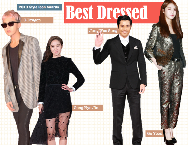 Best Dressed [2013 Style Icon Awards]