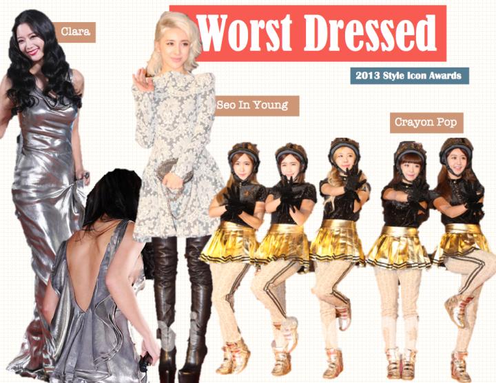 Worst Dressed [2013 Style Icon Awards]