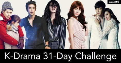 Asia 24:7 K-Drama 31 Day Challenge
