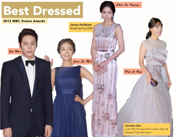Best Dressed [MBC Drama Awards]