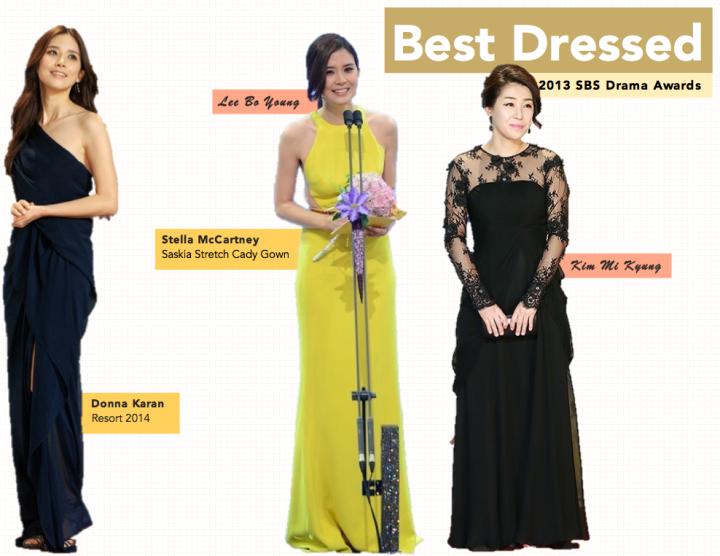 Best Dressed [SBS Drama Awards]