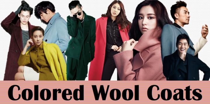 Colored Wool Coats