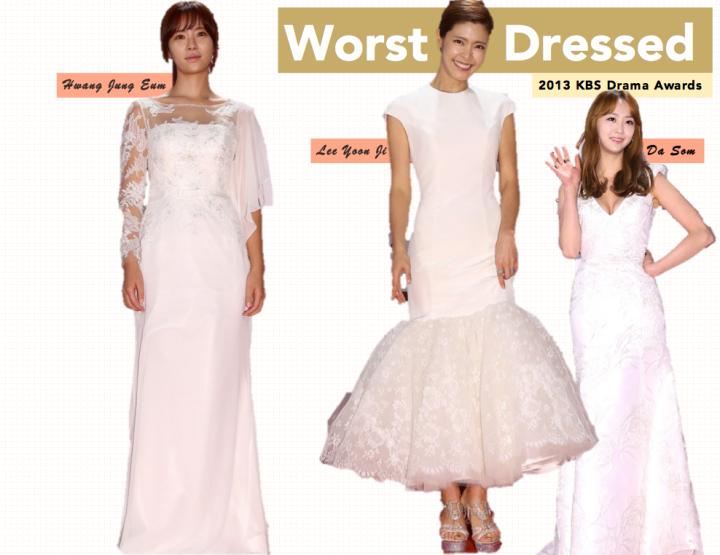 Worst Dressed [KBS Drama Awards]