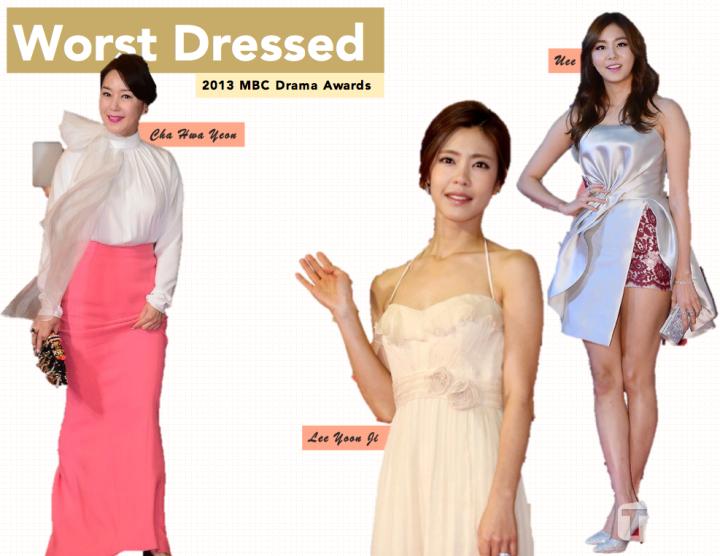Worst Dressed [MBC Drama Awards]