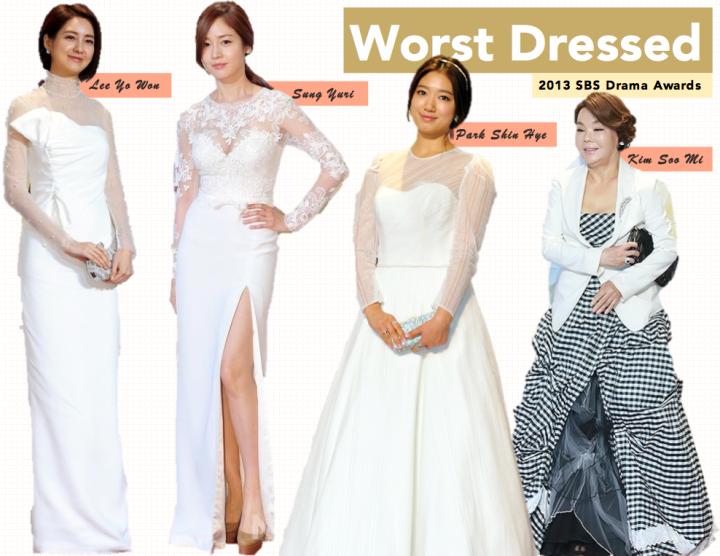 Worst Dressed [SBS Drama Awards] (2)