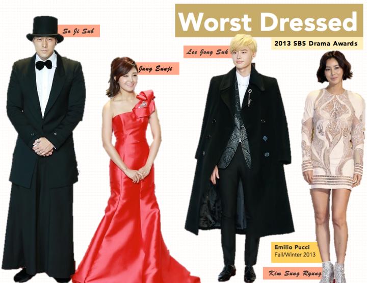 Worst Dressed [SBS Drama Awards]