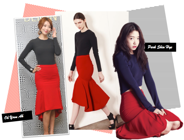 Who Wore It Better? (Park Shin Hye vs. Oh Yoon Ah) [DEMIN]