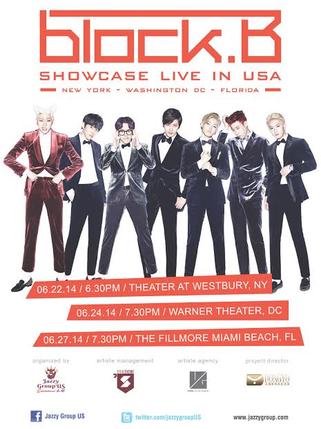 Block B US Showcase