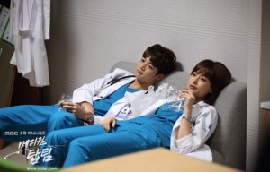 "SHINee's Minho in ""Medical Top Team"" (2013)."
