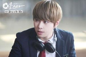 "BEAST's Yong Jun Hyung in ""Monstar."""