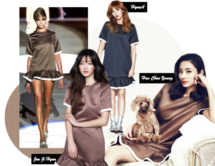 Who Wore It Better? (HyunA vs. Jun Ji Hyun vs. Han Chae Young) [Marc Jacobs]