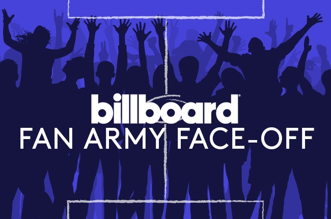 Billboard Fan Army Face Off