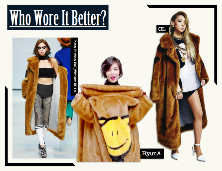Who Wore It Better? [CL vs. Hyun Ah] (Push Button)