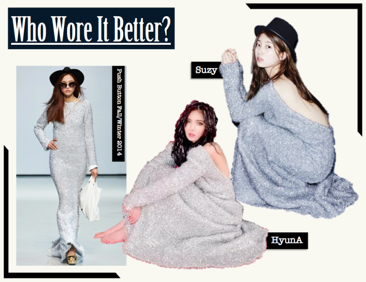 Who Wore It Better? [HyunA vs. Suzy] (Push Button)