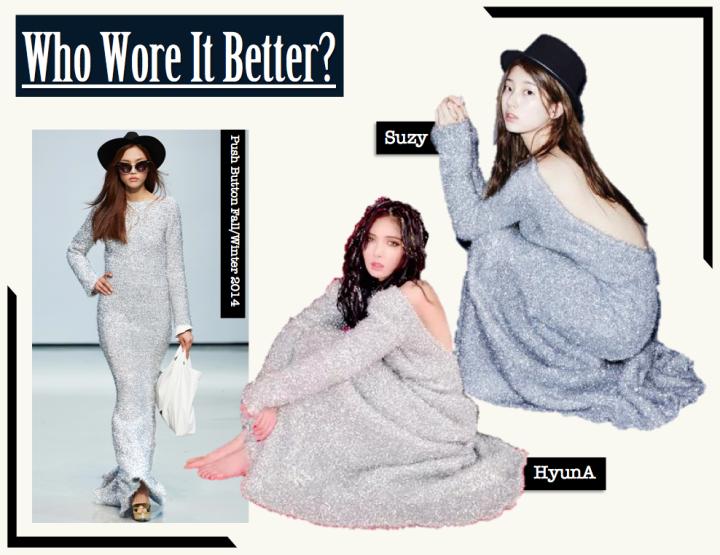 Who Wore It Better? [HyunA vs. Suzy] (Push Button)