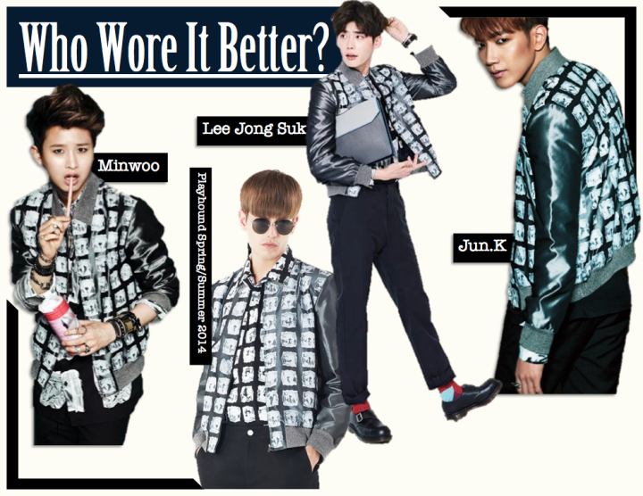 Who Wore It Better? [Jun.K vs. Lee Jong Suk vs. Minwoo] (Playhound]