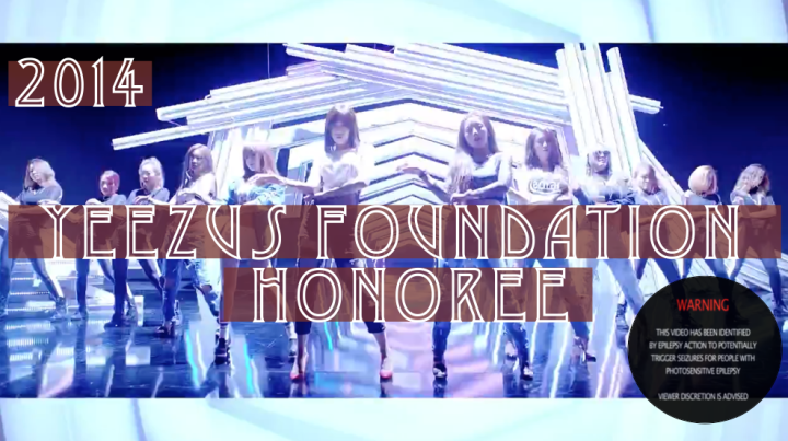 The 2014 Yeezus Foundation Honoree