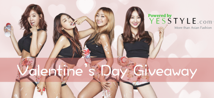 Valentine's Day GIVEAWAY Powered by YesStyle