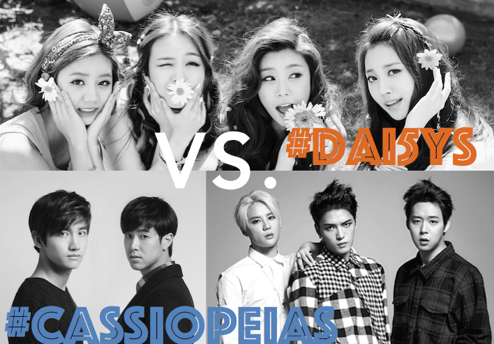 #Dai5ys VS. #Cassiopeias