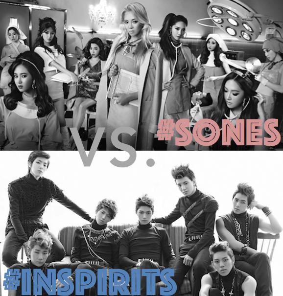 #SONES V. #Inspirits