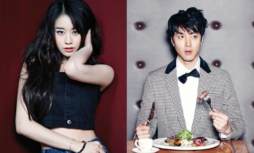 Jiyeon & Lee Dong Gun