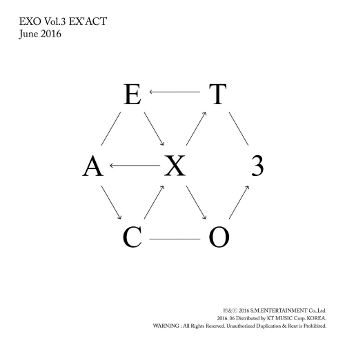 The 3rd Album- 'EX'ACT'